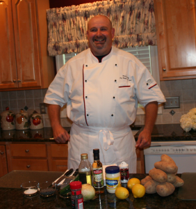 Chef Michael Guessefeld